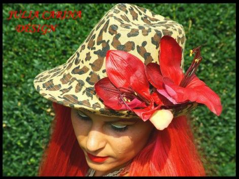 pepard_print_hat_with_red_orhidsjulia_carina_design.jpg